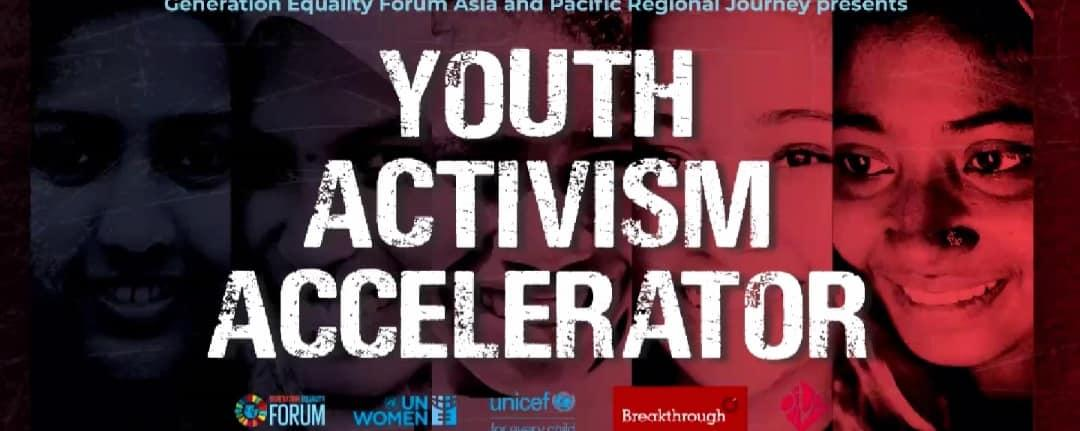 YOUTH ACTIVISM ACCELERATOR- GENERATION EQUALITY FORUM