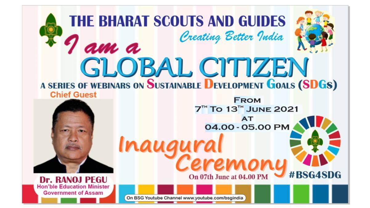 I AM GLOBAL CITIZEN day 1 (7.8.2021)