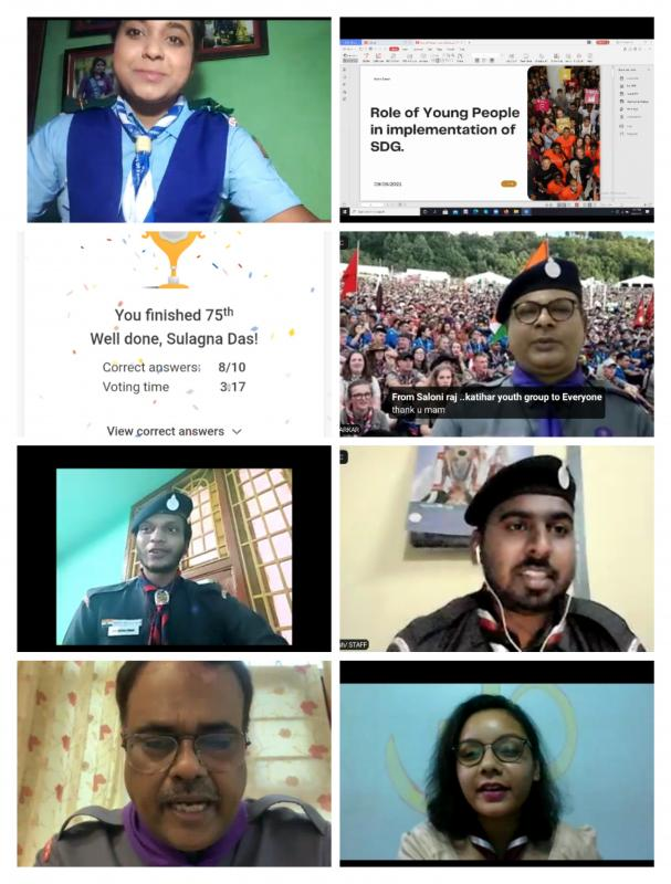 'I am a global citizen webiner' day 3