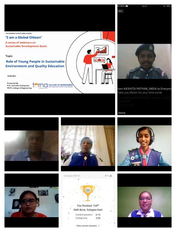 'I am a global citizen webiner' day 4
