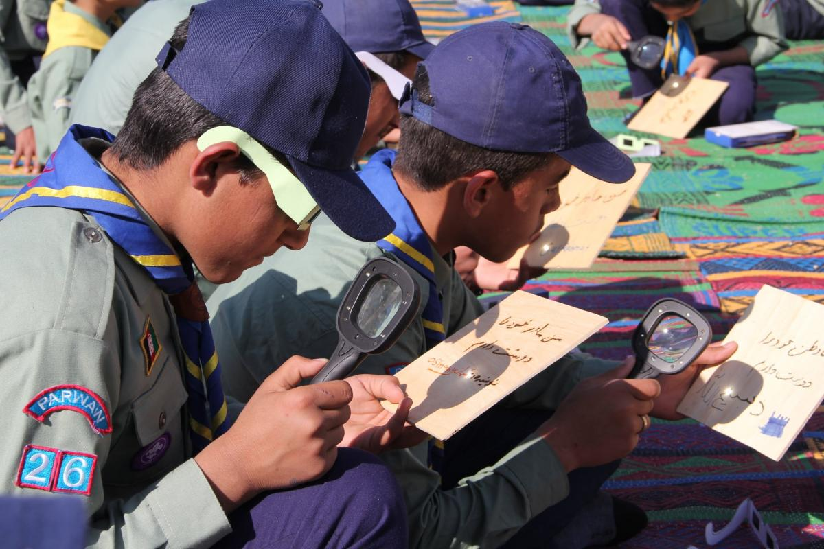 Scouts Go Solar Roadshow- Afghanistan Scouting