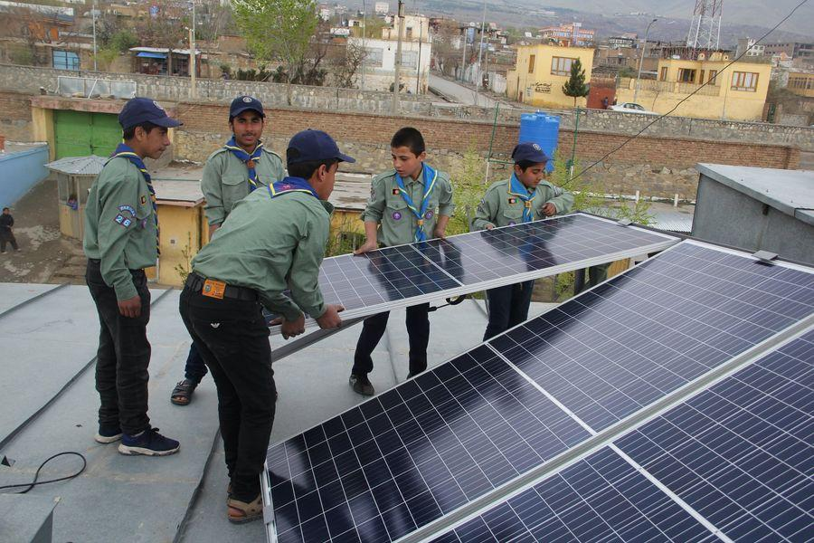 Another Successful Community Development (Scouts go Solar)