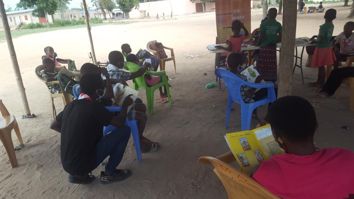 MoBiblioEdu Togo I : Bibliothèque mobile et activités éducatives pour les enfants