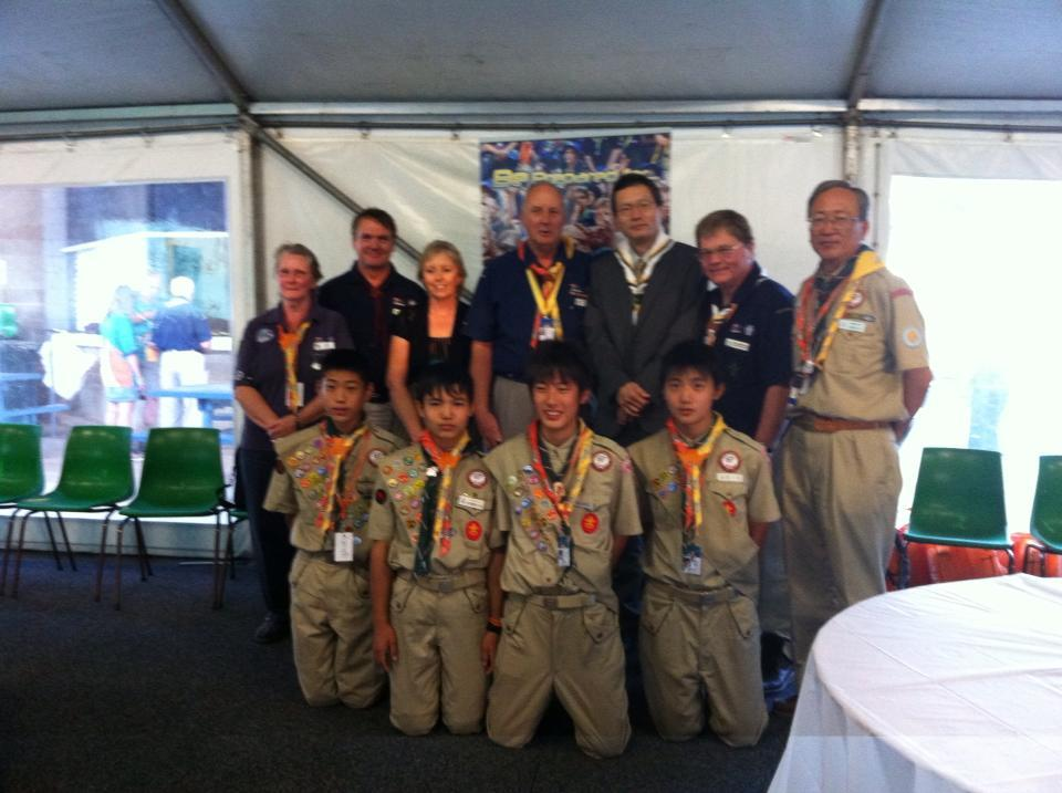 Assisting Scouts from the Greater Tohuko Region of Japan to recover from the devastating earthquake and tsunami.