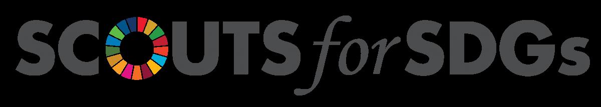 Scouts for SDGs Artwork logo