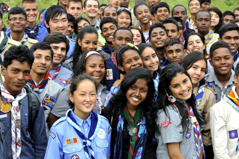 Scouting is open to all without distinction